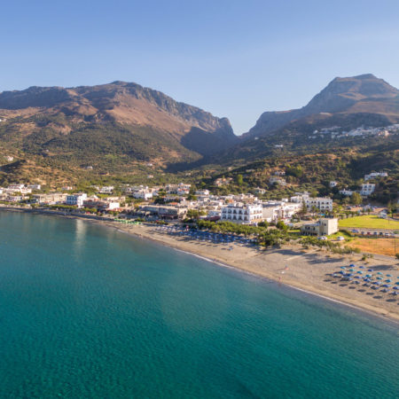 Aerial Photo 2 - Alianthos Beach Hotel Plakias Rethymno Crete