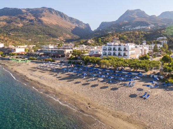 Aerial Photo 3 - Alianthos Beach Hotel Plakias Rethymno Crete